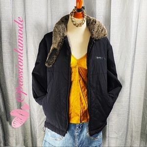 VTG PRADA SPORT 💯 AUTH Polyester Hooded Jacket M